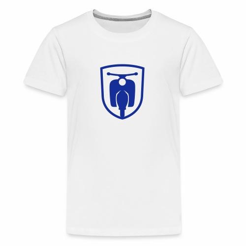 Moped Schwalbe Wappen - Teenage Premium T-Shirt