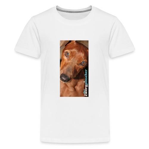 derzwergpinscher jack jpg - Teenager Premium T-Shirt