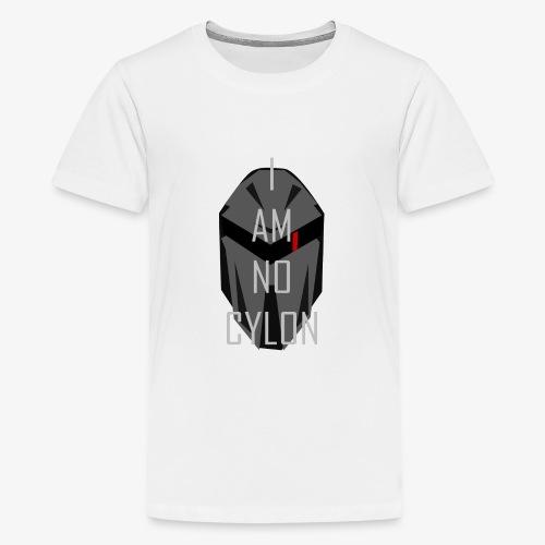 I am not a Cylon - Premium T-skjorte for tenåringer
