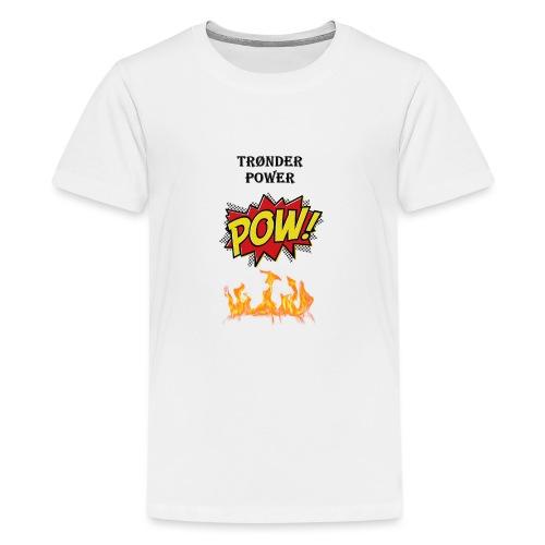 Tronderpower - Premium T-skjorte for tenåringer