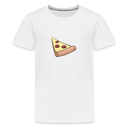 Pizzastück für Eltern-Baby-Partnerlook - Teenager Premium T-Shirt