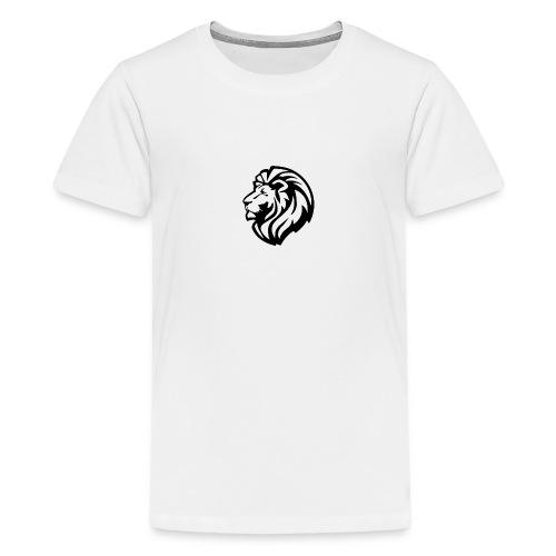 león - Camiseta premium adolescente