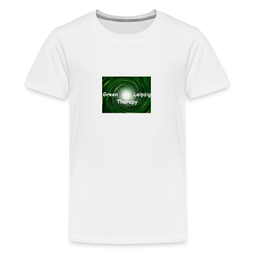 green Leipzig therapy - Teenager Premium T-Shirt