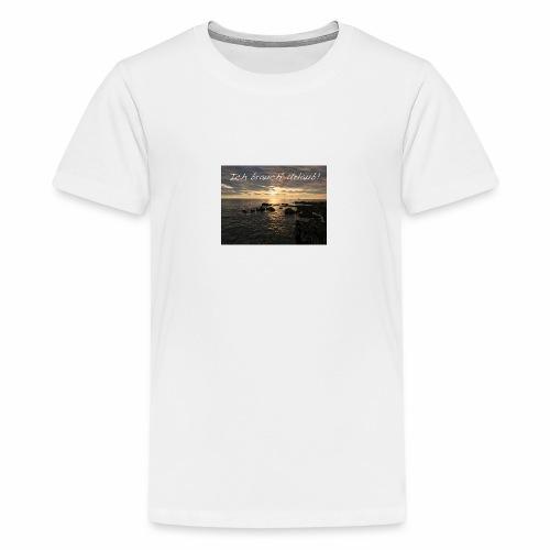 Ich brauch' Urlaub - Teenager Premium T-Shirt