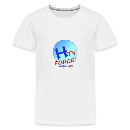 LOGO1.png - Camiseta premium adolescente