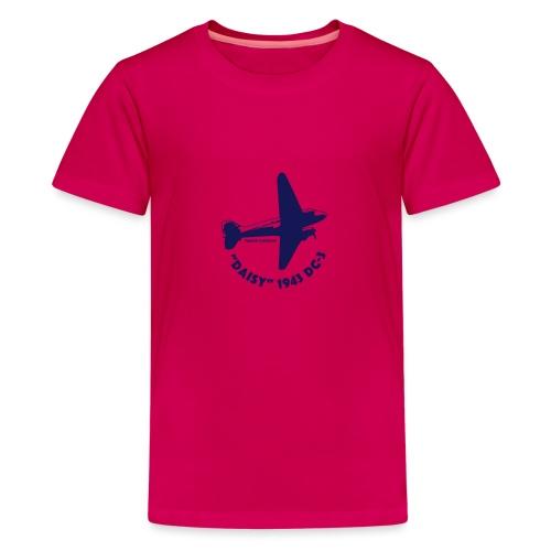 Daisy Flyover 1 - Premium-T-shirt tonåring