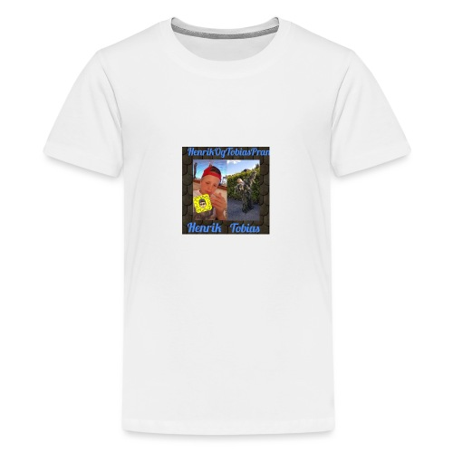 HenrikOGTobias - Premium T-skjorte for tenåringer