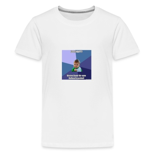 Vortrag - Teenager Premium T-Shirt