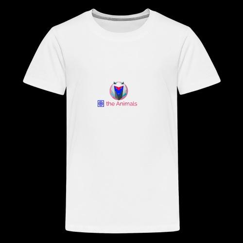 Safe the Animals Kollektion - Teenage Premium T-Shirt