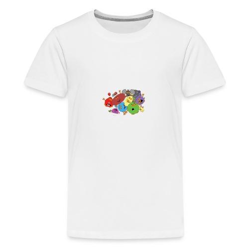 Blubbianerna! - Premium-T-shirt tonåring