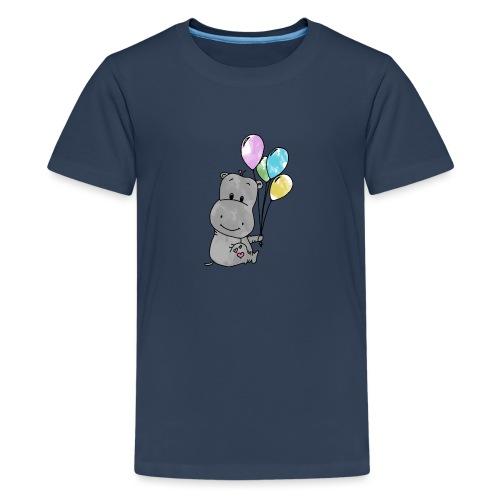 Hippo - Teenager Premium T-Shirt