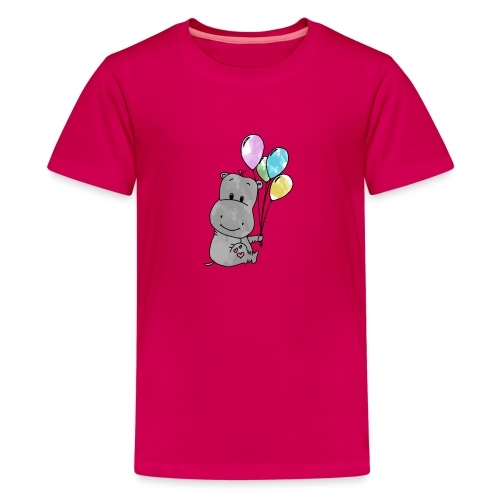 Hippo - Teenager Premium T-Shirt