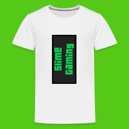 phone slimegaming jpg - Teenage Premium T-Shirt