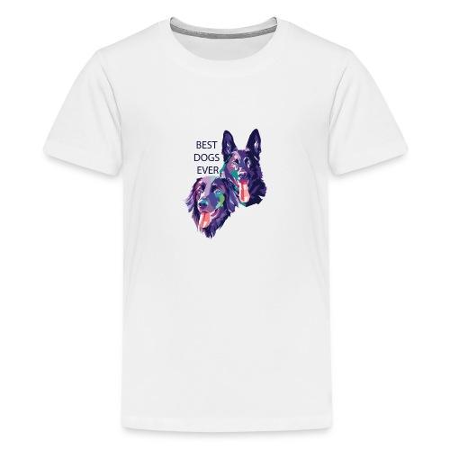 Schäferhund und Hovawart for ever - Teenager Premium T-Shirt