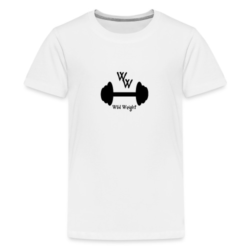 wild weight logo (R) - Camiseta premium adolescente