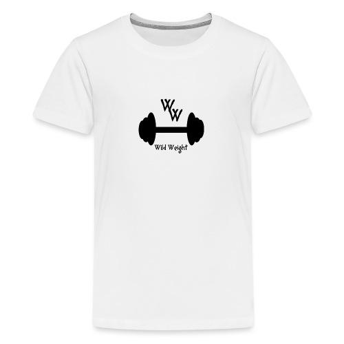 wild weight logo (R) - Camiseta premium adolescente