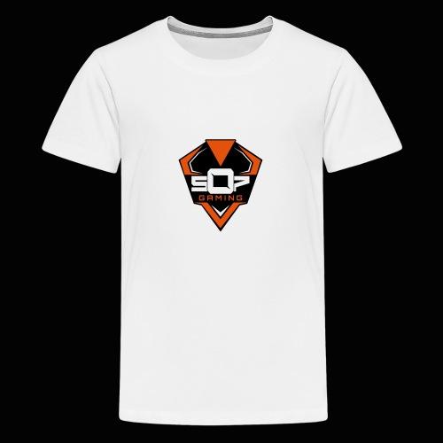 507.Gaming - Premium-T-shirt tonåring