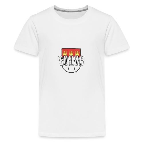 Köln Veedel 50996 - Teenager Premium T-Shirt