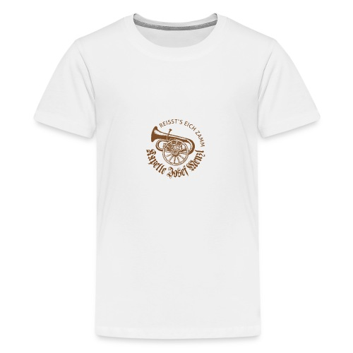 Kapelle Josef Menzl rost - Teenager Premium T-Shirt
