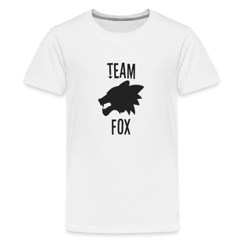 Team Fox - Teenage Premium T-Shirt