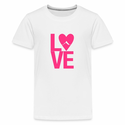 Mountain Love - Teenager Premium T-Shirt
