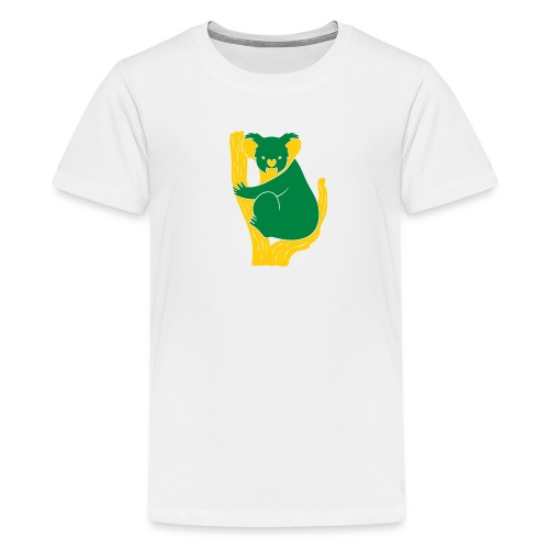 koala tree - Teenage Premium T-Shirt