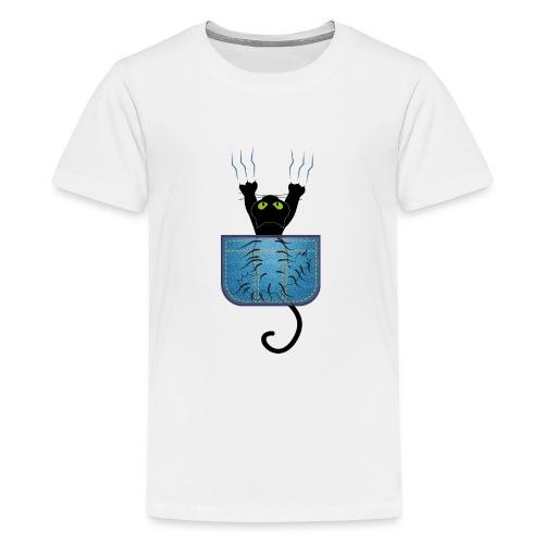 Gatete bolsillo - Camiseta premium adolescente