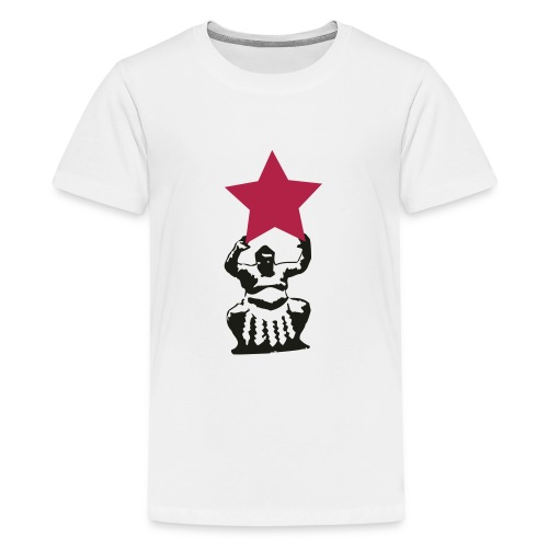 sumo sternträger - Teenager Premium T-Shirt