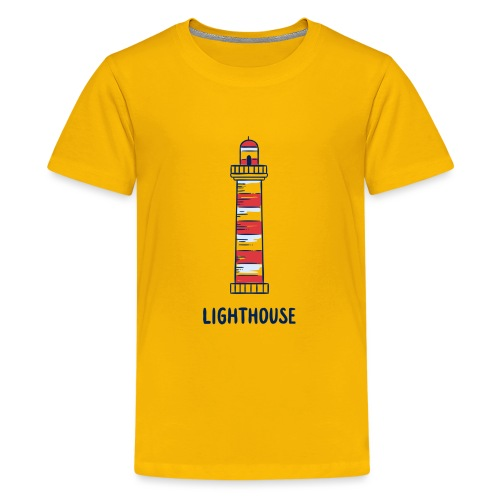 Lighthouse - Teenager Premium T-Shirt