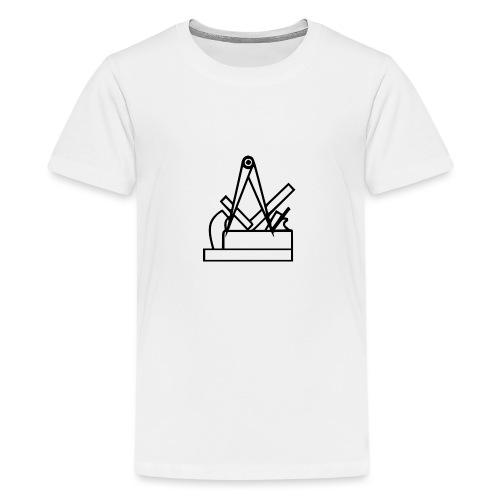 tischler logo - Teenager Premium T-Shirt