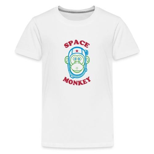 Space Monkey - T-shirt Premium Ado