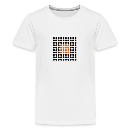 Square Dots - Camiseta premium adolescente
