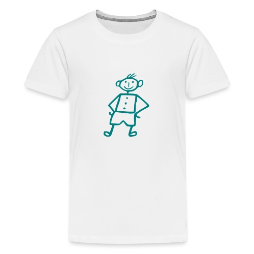 me-white - Teenager Premium T-Shirt