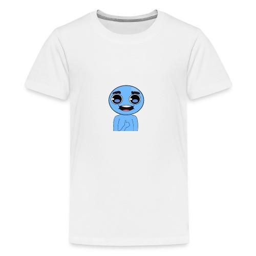 Moloplax Profile Head And Torso png - Premium-T-shirt tonåring