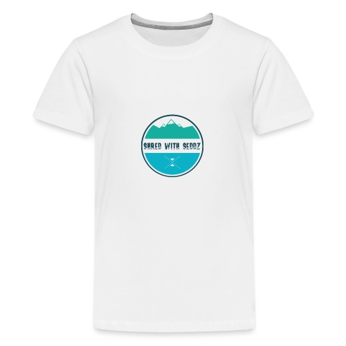 Shred with Seddz Clothing - Teenage Premium T-Shirt
