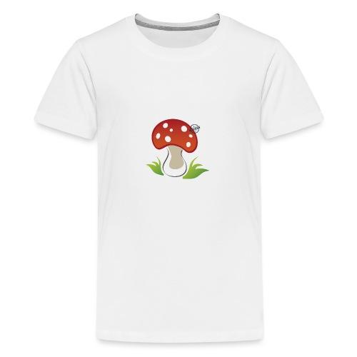 Mushroom - Symbols of Happiness - Teenage Premium T-Shirt