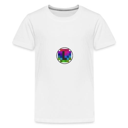 PixelColor - T-Shirt weiß - Teenager Premium T-Shirt