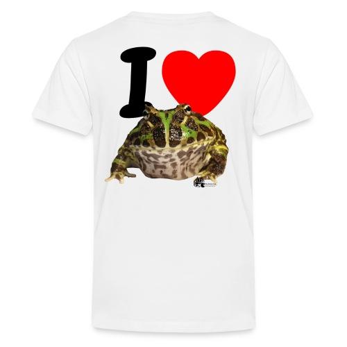ilovepacman png - Teenager Premium T-Shirt