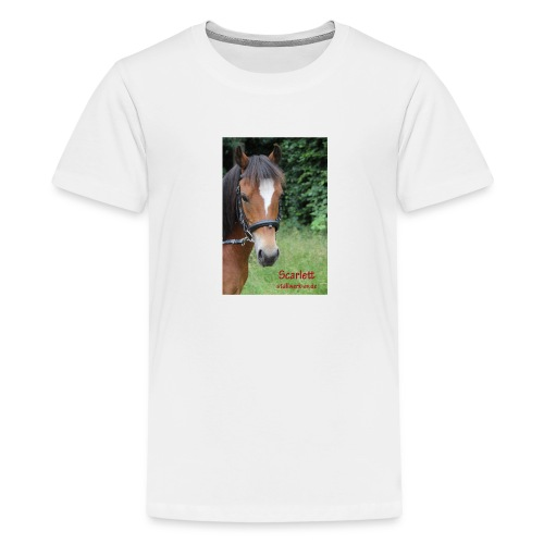 Scarlett Stallwerk - Teenager Premium T-Shirt