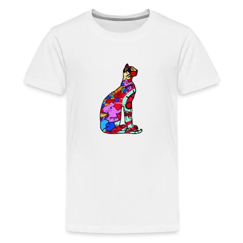 Serenicat - Teenage Premium T-Shirt