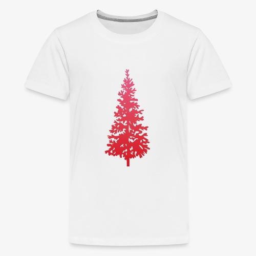 navidad árbol regalos fiesta Christmas - Camiseta premium adolescente