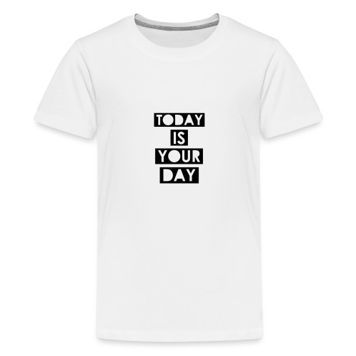 Official Design Kompas Today is your day - Teenager Premium T-shirt