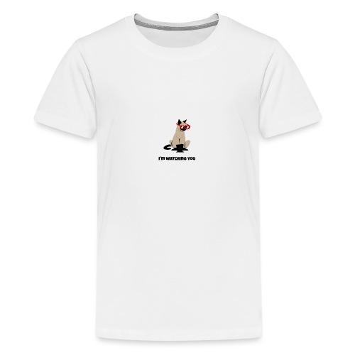 Stalking Cat - Teenager Premium T-Shirt
