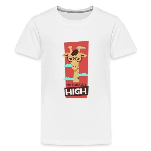 naturally high - Teenager Premium T-Shirt