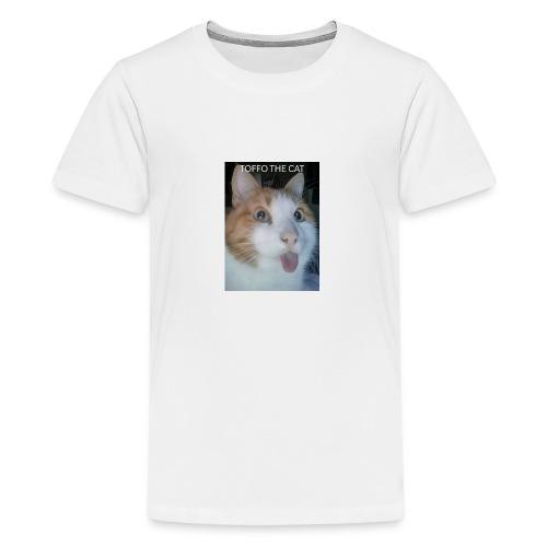TOFFO THE CAT - Teinien premium t-paita