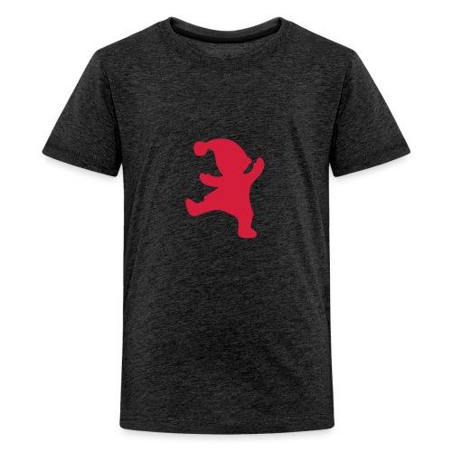 Santas helper - Teinien premium t-paita