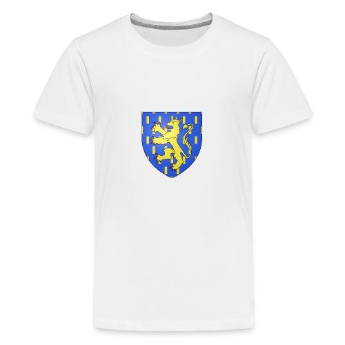 Blason de la Franche-Comté avec fond transparent - T-shirt Premium Ado