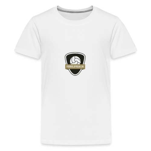 fodboldfreak logo - Teenager premium T-shirt