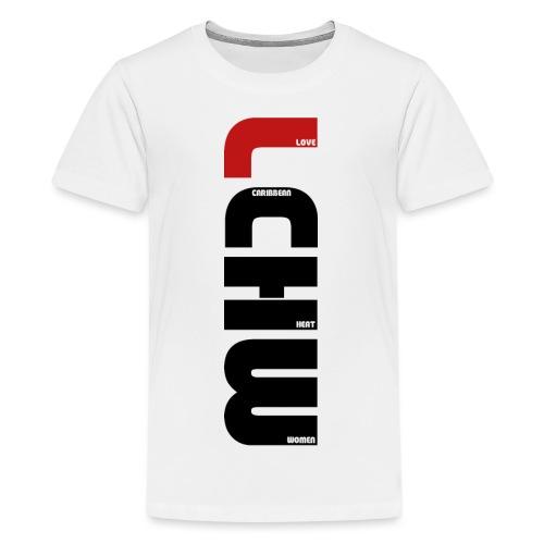LOVE CARIBBEAN HEAT WOMEN - LCHW - T-shirt Premium Ado