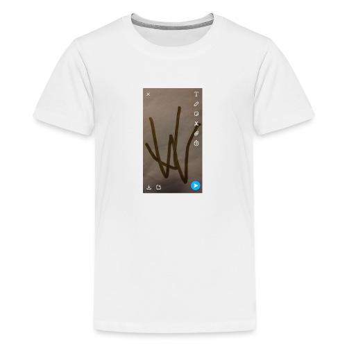 Jamie wiggins - Teenage Premium T-Shirt